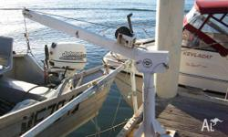 Davit - Boat Lift - Second Hand, Boat Accessory, Davit