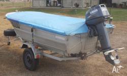 3 5mt de havilland boat with 15hp motor for Sale in MOUNT COTTON