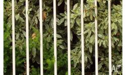 Decorative tubular fencing 10 08 Wire and Mesh 36