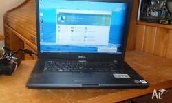 Dell Latitude E6500 15.4in dual core notebook. Fully