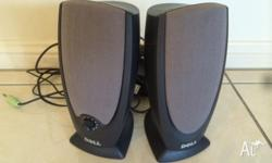 Dell computer speakers - $10 for the pair. Phone: