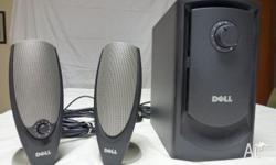 DELL Computer Speakers. Includes ZYLUX MULTI MEDIA