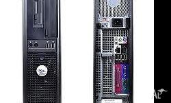 Dell optiplex 360 Core@Duo @2.8GHZ , RAM 2GHz, HDD