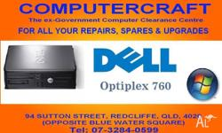 Dell Optiplex 760 desktop computer with full 90 day