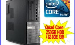 I have on offer a Dell Optiplex 790 SFF Quad Core i5,