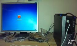 dell optiplex 980:- CPU:- core i7. RAM:- 4GB. Vedio