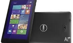 Brand new Dell Venue Pro 8 along with folio for sale at