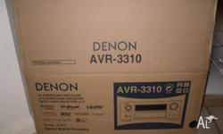 Denon Audio Reciever - Purchased 18 months ago but