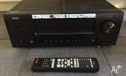 Denon AV Surround Receiver AVR1612. Available due to