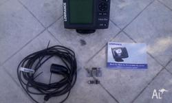 Lowrance Mark 5x depth sounder. Includes :- * Main