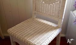 White french provincial / beach style wicker bedroom