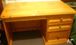 I have a very solid Pine desk for sale - Early Settler.