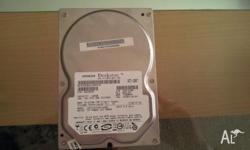 2 PC Hrad Drives in excellent conditions. 1- 160 GB -