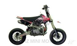 DHZ ,OUTLAW 140 Motard Twin Exhaust ,2010, MOTOCROSS,