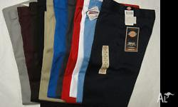 I have dickies shorts available in size 30-khaki pin