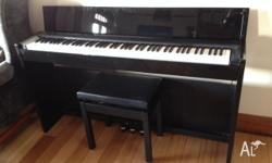 This Casio digital piano is in excellent, near new