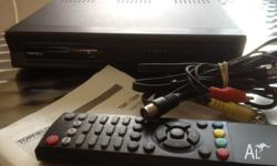 Topfield HD Set Top box includes remote, cables and