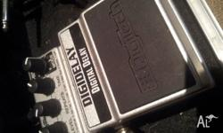 Digitech delay pedal. One of the best delay pedals