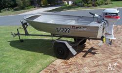 We are selling our 3.0m Savage which comes with an 8hp