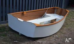 Strongly built small dinghy. Custom built for tender to
