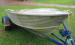 STACER RIVIERA. APPROX 12FT. COMES WITH OARS, 3 LIFE