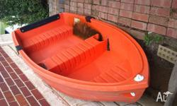 Good dingy great tender with oars $500 Mount for motor