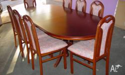Unused for a long time, this Dining set is in good