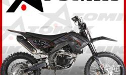 DIRT BIKE ,ATOMIK PROX ,250cc,2011, Chain, BLACK,