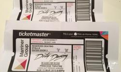 Dirty Dancing Stage Show Tickets (2) Sunday 15th March