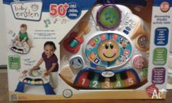 Its a brand new toy. Never used. The Baby Einstein