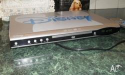 Disney DVD player with remote. Used once only. Player