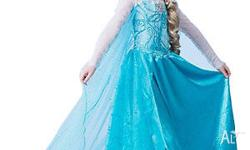 Elsa Costume - 5 different Style Size: 2-3yr, 3-4yr,