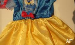 Size 3-5 Height 95-120cm 1 x Snow White Dress 1 x
