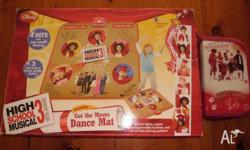 Disney High School Musical 3 Dance Mat and Star Dazzle