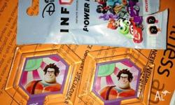 I have 2 disney infinity disks Sugar rush textured set