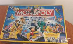 I have Disney monopoly in very good condition that I