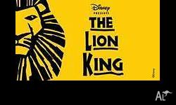 Disney Presents The Lion King (Perth) Crown Theatre