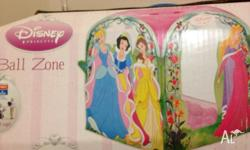 Disney Princess ball zone. Comes with carry case and