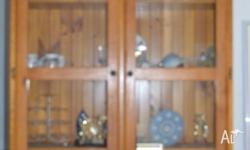 2 Large Wooden display cabinets 1800 x 1200 x 320 -
