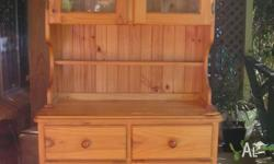 Display CORNER Pine cupboard $250 ONO excellent cond