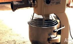 For sale industrial french bread mixer + meat mincer -