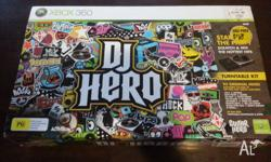 Selling this DJ HERO game set Includes the box with the