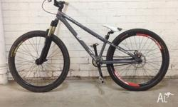 DMR Transition dirt hardtail Pushbike, $300 worth of