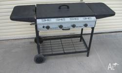 Do you need just a basic BBQ 4 burner BBQ on good