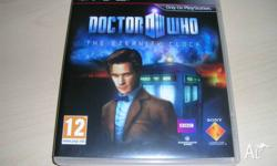 Playstation 3, DOCTOR WHO (THE ETERNITY CLOCK). MINT