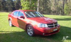 This is a like new dodge avenger it is the top sxt