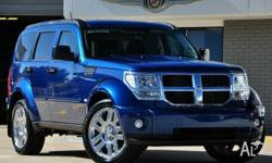 DODGE, NITRO, KA MY08, 2010, 4x4, CLOTH trim, 4D WAGON,