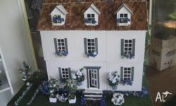 Beautiful Large Dolls house including furniture, in