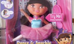 Dora the Explorer Dance & Sparkle BRAND NEW see photos