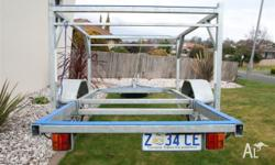 Ruhle built double deck laser trailer, suit other